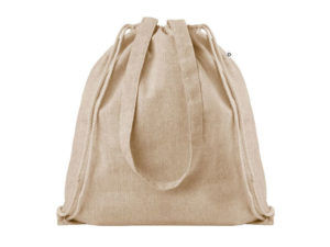 2 Tone Cotton String Bag