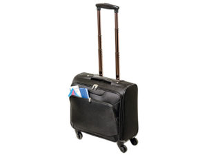 600D Laptop Trolley Bag with Four Wheels
