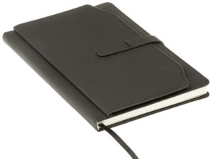A5 Notebook with Outer Pouch