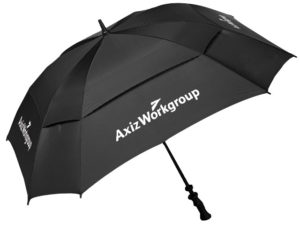 Black Knight Square Golf Umbrella