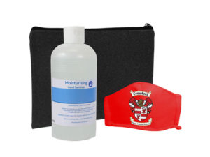 Boomer Sanitiser And Mask 500Ml Set