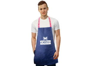 Cheff Denim Apron With Three Division Pocket And Sublimated Straps
