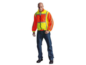 Contract Long Sleeve Reflective Vest