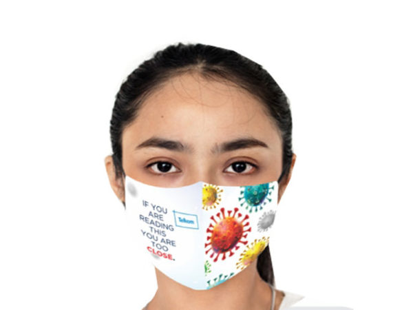 Gage 3 Layer Washable Face Mask-Ladies