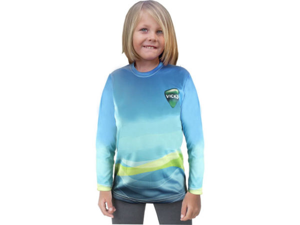Junior Crew Neck Long Sleeve T Shirt
