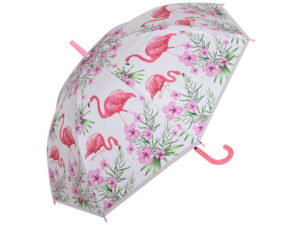 Kids Dome Flamingo 8-Panel Umbrella