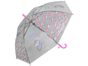 Kids Keep Calm Unicorn 8-Panel Umbrella And Whistle