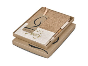 Okiyo Cardon Cork A5 Notebook Giftset