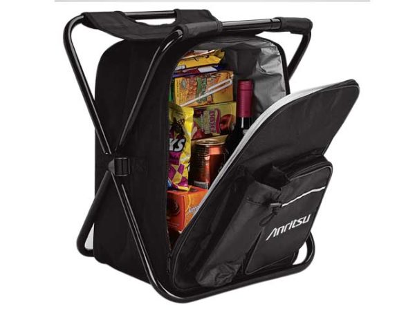 Picnic Chair Backpack/Cooler - 420D/600D/PEVA Lining