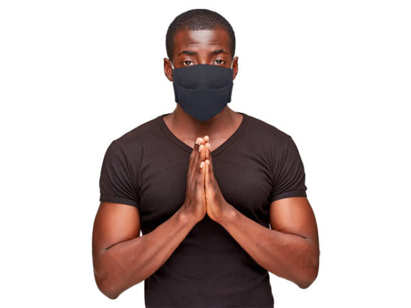 Pleated J54 Cotton Fabric Mask (pack of 50)