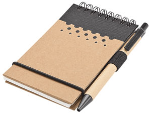 Recycled Jotter Pad & Pen