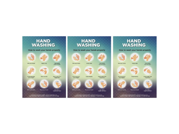 Saturn A0 Hand Wash Poster
