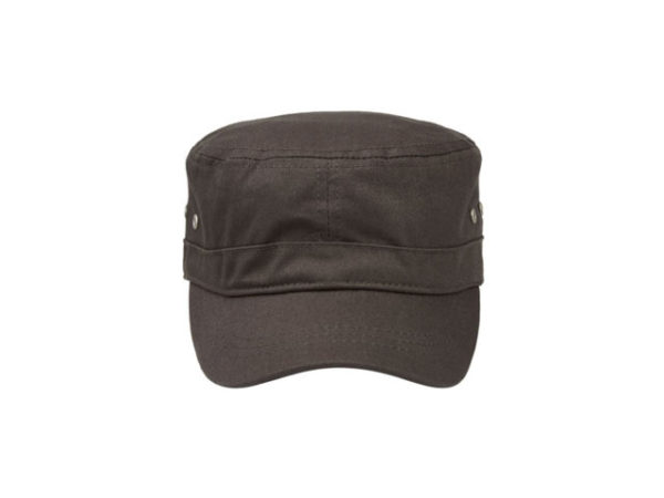 Unstructured Cotton Twill Military Style Cap