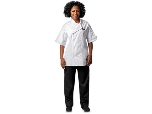 Zest Short Sleeve Chef Jacket